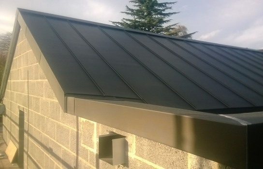 Winchester, Hampshire - VMZinc Anthra detailing